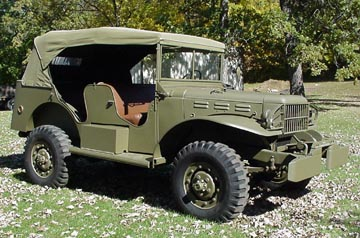 1942 WC58 Command Car