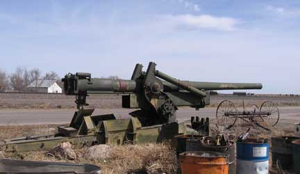 Back to Nebraska – March 2007 …Howitzer Acquistion