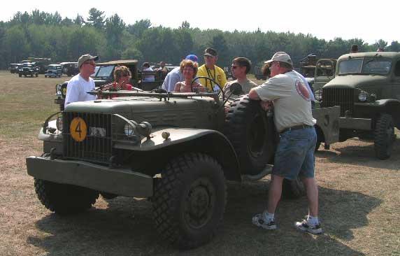 MVPA Fall Rally in Spooner, WI – September 2005