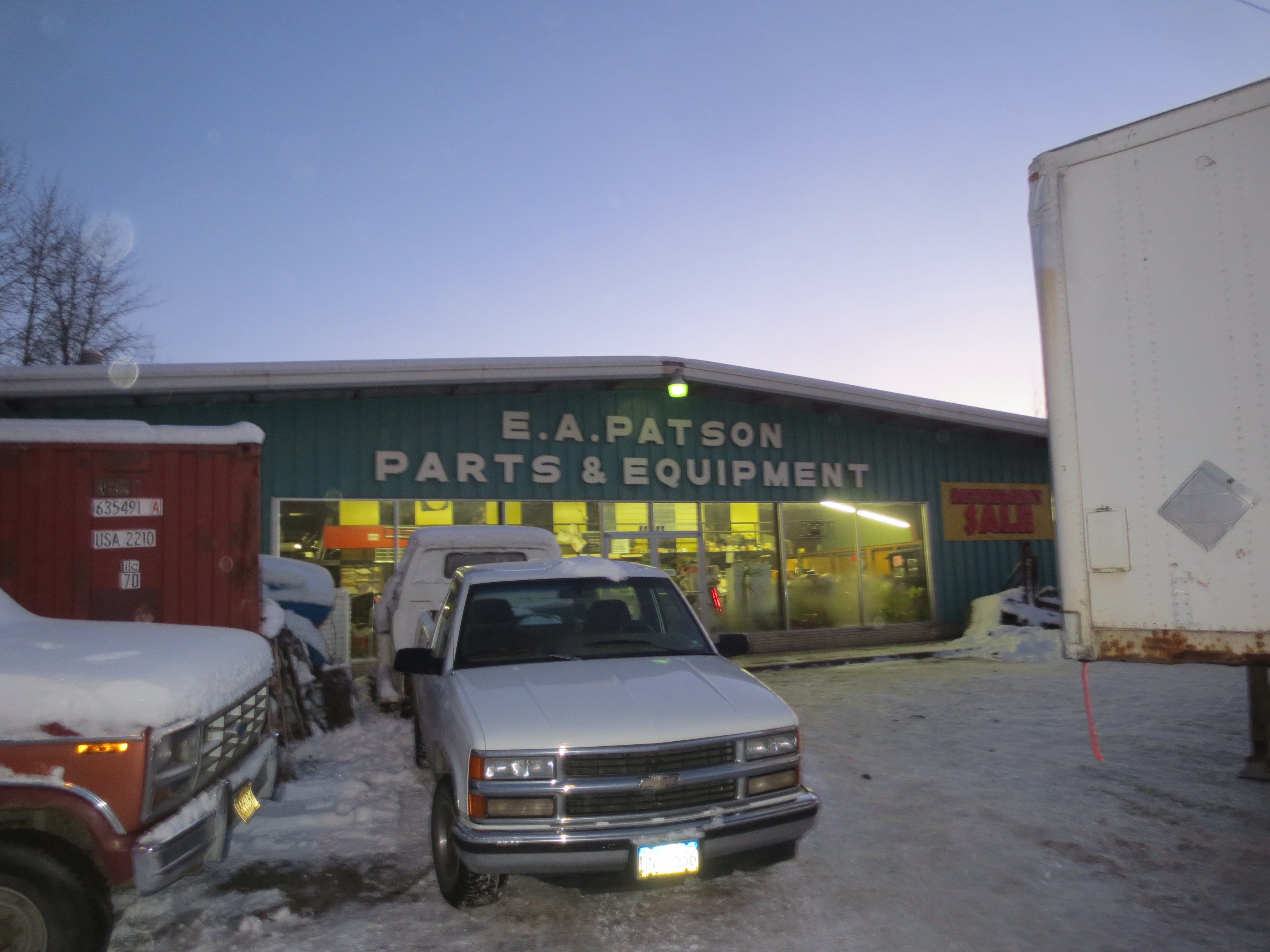 E. A. Patson Parts, Anchorage, Alaska